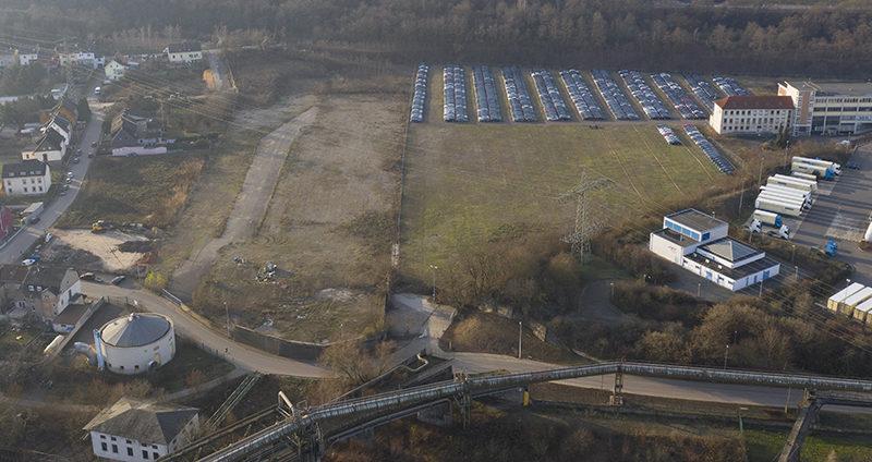 Früheres Kraftwerksgelände in Völklingen-Wehrden wird zum Gewerbegebiet
